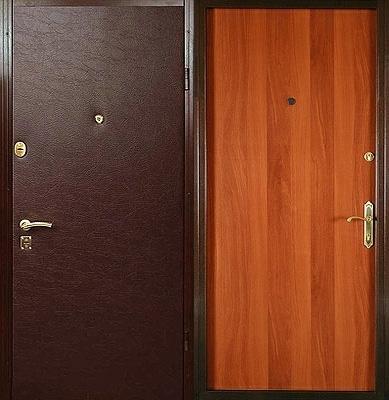 стальные двери ламинат винил