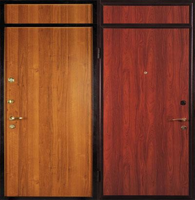 двери входные с вставками
